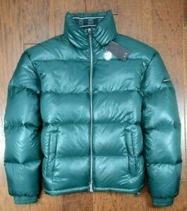 Armani Exchange A|X $290 Men's Dark Green Down Winter Quilted Puffer Jacket L