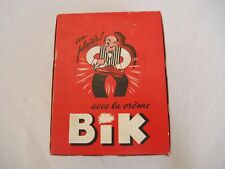 RARE boite présentoir carton cirage BIK  complète