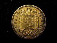 1 peseta 1947 estrella 53 F- a XF