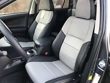 2013 2014 2015 2016 2017 Toyota RAV4 LE KATZKIN REPLACEMENT LEATHER SEAT COVERS