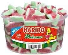 Haribo Melone - Fruchtgummi Wassermelonen Melonen - 150 Stück