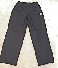 Adidas womens Sz XL Black Fleece Lined Warm Sweats Cold Weather Sports