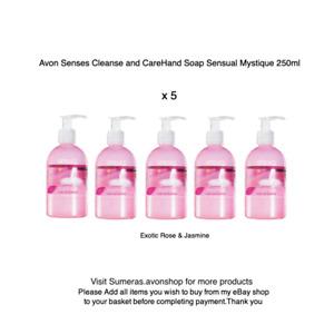 Avon Senses Cleanse & Refresh Daily Hand Wash liquid Soap Mystique 250ml x 5