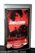 GANGS OF LONDON PLATINUM GIOCO NUOVO SONY PSP EDIZIONE UK PG