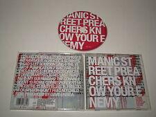 MANIC STREET PREACHERS/SAVOIR YOUR ENNEMI(EPIC/501880 2)CD