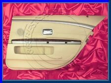 BMW 7 series E66 REAR RIGHT DOOR INNER COVERING PANEL LEATHER COVER TRIM BEIGE