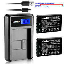 Kastar Battery Charger Kodak KLIC-5001 Kodak EasyShare DX6490 EasyShare DX7440