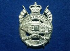 1st ARM REGIMENT HAT BADGE - AUSTRALIAN ARMY ARMOURED CORPS REPRODUCTION