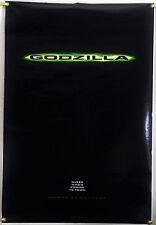 Godzilla Ds Rolled Tsr Orig 1Sh Movie Poster Emmerich Meets Toho Gojiro (1998)