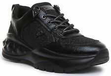 Guess Fl8Clefal12 Cleao Active Trainer In Black Size UK 3 - 8