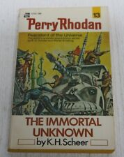 Perry Rhoda #13: The Immortal Unknown, K. H. Scheer & Walter Ernsting 1972