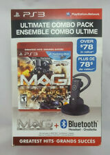 PS3 Ultimate Combo Pack MAG Plus Bluetooth Auricular Headset PlayStation 3