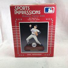 Miniature Sports Impressions Orel Hershiser Sports Superstar Figurine NIB
