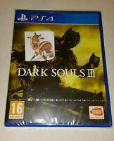 Dark Souls 3 PS4 New Sealed UK PAL Version Game Sony PlayStation 4 RPG III soul