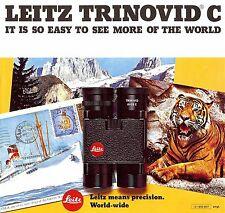 Leitz Trinovid-C ein Fernglas Prospekt-Trinovid C-8X20-10X22 - Leica - 1970s