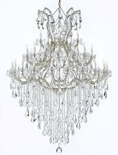 "Entryway Maria Theresa Empress Crystal (tm) Chandelier Lighting! H 72"" W 52"""
