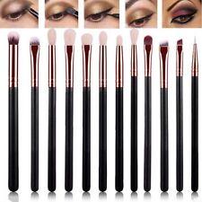 12pcs Eye Cosmetic Brush Set Eyeshadow Eyebrow Blending Br Brush M9B2 Makeu G2Y1