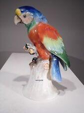 +# A015608 Goebel Archiv Muster Papagei Parrot Ara mit Erdnuss CV333 Krone