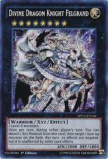 Divine Dragon Knight Felgrand MP14-EN166 X 3 Mint  1st  YUGIOH Secret Rare