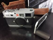 Leica M M8 10.3MP Digital Camera - Silver With Leica Grip And Case