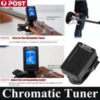 *Clip On Chromatic Tuner Guitar Bass Banjo Ukulele Violin OUD Tuner JOYO  eC