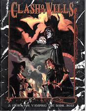 VAMPIRI - Clash of Wills - A story for Vampire: The Dark Ages - Rpg Gdr NEW ENG