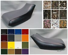 Suzuki OZARK 250 Seat Cover LTF250   in BLACK, 25 COLOR OPTIONS or 2-tone