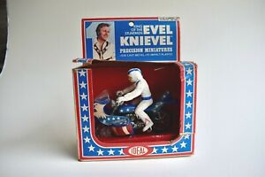 EVEL KNIEVEL Strato-cycle - 1977 IDEAL 'precision miniatures' - BOXED **RARE**