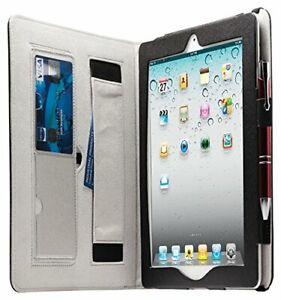 Housse Etui pour tablette Apple iPad 2, 3, 4 en cuir Marron - NEUF
