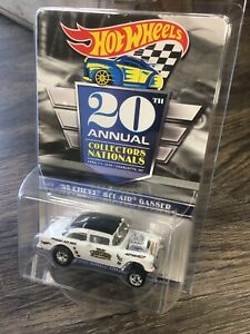 2020 Hot Wheels 20th Nationals Convention #1 Series Car '55 Chevy Bel-Air Gasser