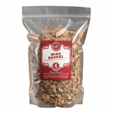 Midwest Barrel Company Genuine Red Wine Barrel BBQ Smoking Wood Chips