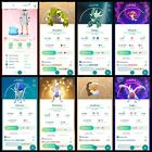 Pokémon Go Account Level 40   32 Shiny   244 Legendary   26,4*Pokemon(RARE)