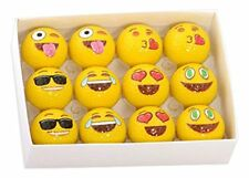 Emoji Universe Golf Balls Professional Practice Accessories Gifts Set 12 Funny