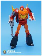 Pre-order MFT MS19 FLAME COMMAN Rodimus Prime Transformation Action Figure Toy