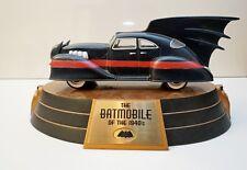 DC DIRECT BATMOBILE: 1940'S EDITION REPLICA #367 of 750 w/BOX RARE
