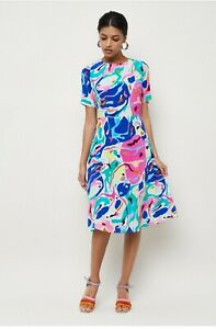 Gorman Canvas Silk Dress Size 8