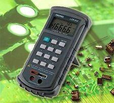 Digital Appareil de mesure LCR mètre avec rs232 + logiciel capacité mesurer lc1