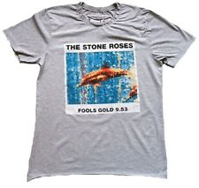 AMPLIFIED THE STONE ROSES Fools Gold 9.53 Rock Star Grau Vintage T-Shirt S 46
