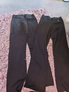 next girls black trousers NWOT age ,16