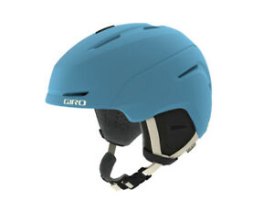 Giro Avera Mips Mat Powder Blue Ski Helmet New Women's Snowboard Warm Winter j20