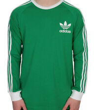 size small - adidas originals adc fashion 3 stripes long sleeve t shirt - b10658