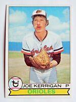 Joe Kerrigan #37 Topps 1979 Baseball Card (Baltimore Orioles) VG