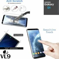 100% Genuine Premium Tempered Glass Screen Protector Film for Samsung Galaxy S9