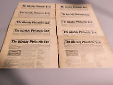 (10) The WEEKLY PHILATELIC Era 1901-02 Interests of Stamp Collecting NEWSPAPER