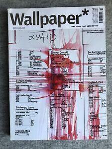 Wallpaper Magazine : October 2019 : Jenny Holzer Cover : NEW