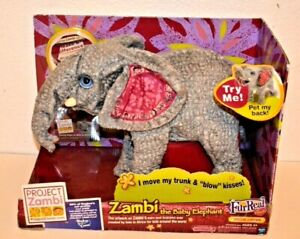 Project Zambi the Baby Elephant Fur Real Friends Special Edition Plush by Hasbro