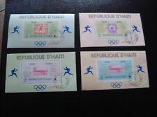HAITI - timbre yvert et tellier bloc n° 26 a 27A obl (Z14)stamp