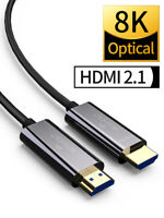 8K Optical Fiber HDMI 2.1 Cable ARC HDR 4K 120Hz for Samsung QLED TV Amplifier
