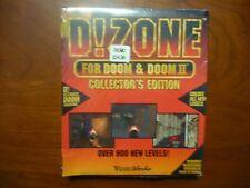 D! Zone For Doom & Doom II Big Box IBM 3.5'' Floppy Disk DOS PC Game 1995