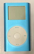 1st Generation Apple Ipod Mini Model A1051 Rare Light Blue Color